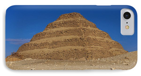 Step Pyramid Of King Djoser At Saqqara  IPhone Case