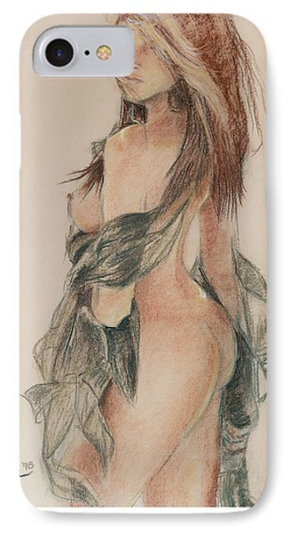 Standing Nude 1 IPhone Case