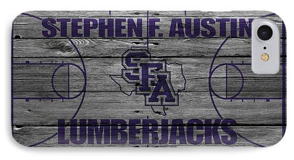 Stephen F Austin Lumberjacks IPhone Case by Joe Hamilton