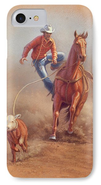 Steppin' Down At Red Lodge IPhone Case by Paul Krapf