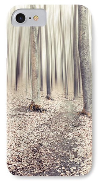 Steppin' Through The Last Days Of Autumn Phone Case by Hannes Cmarits