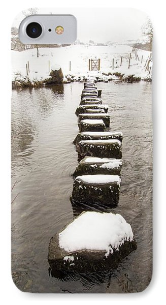 Stepping Stones Across The River Rothay IPhone Case