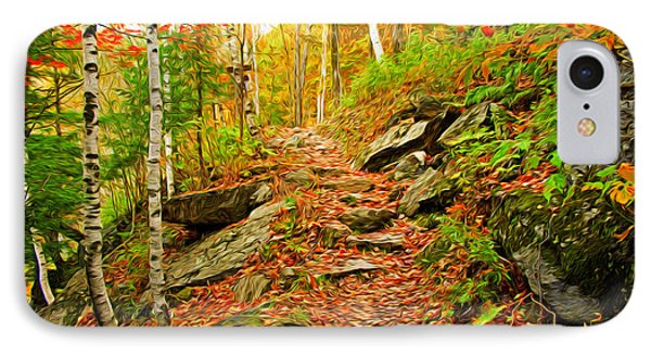 IPhone Case featuring the photograph Stepping Stones by Bill Howard