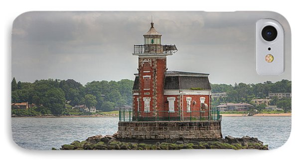 Stepping Stones Lighthouse I Phone Case by Clarence Holmes