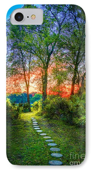 Cabbage iPhone 7 Case - Stepping Stones To The Light by Marvin Spates