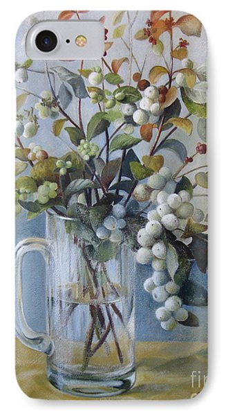 Stepping To Another Season IPhone Case by Elena Oleniuc