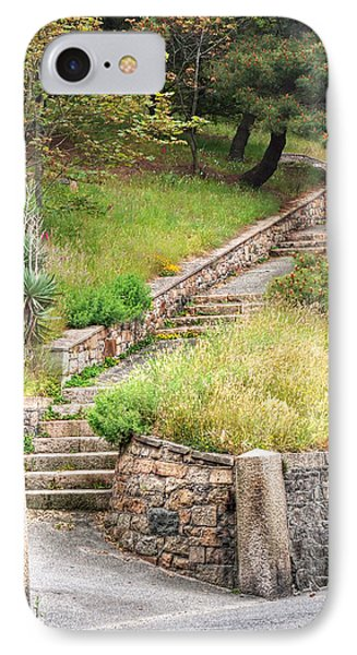 Steps Guiding The Way IPhone Case by Gill Billington