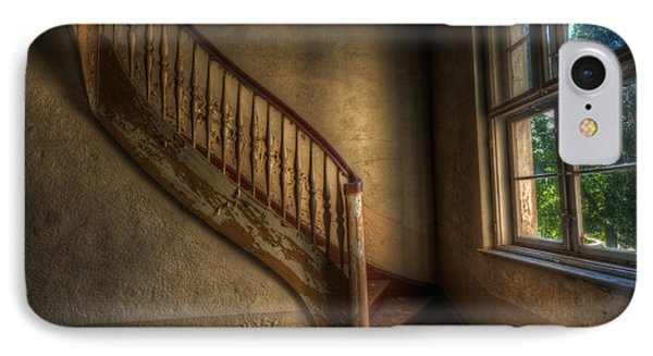 Steps In A Curve IPhone Case