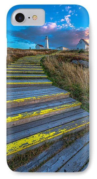 Steps To Cape Spear IPhone Case by Gord Follett