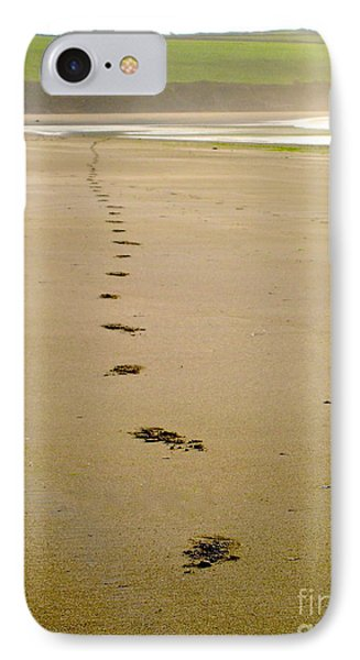 IPhone Case featuring the photograph Steps To Inchydoney by Suzanne Oesterling