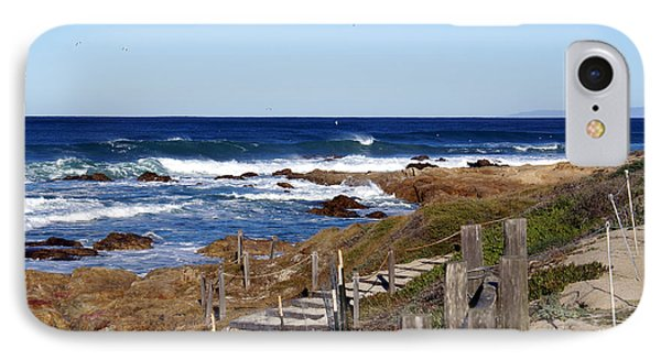 Steps To The Sea Phone Case by Barbara Snyder