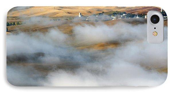 Steptoe Fog Clearing IPhone Case by Mike  Dawson