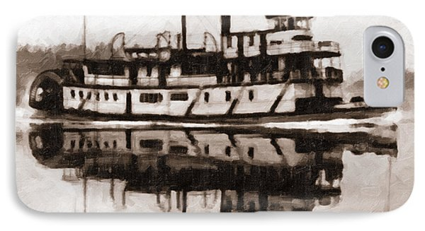 IPhone Case featuring the photograph Sternwheeler Sol Simpson 1910 by Joe Jeffers