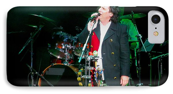 Steve Hogarth Marillion IPhone Case by Melinda Saminski