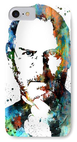 Steve Jobs IPhone Case by Luke and Slavi