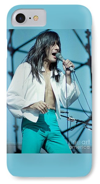 Steve Perry Of Journey At Day On The Green - July 1980 Phone Case by Daniel Larsen