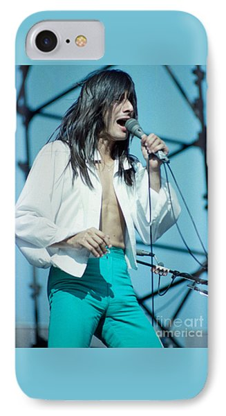 Steve Perry Of Journey At Day On The Green - July 1980 IPhone Case