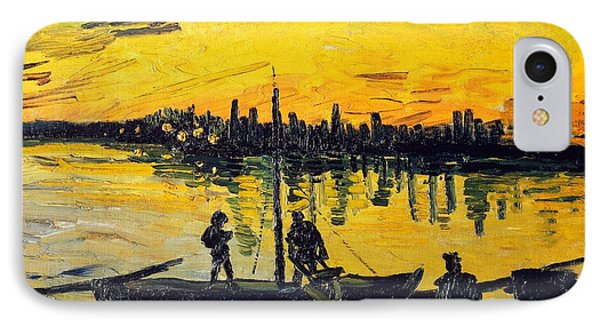 Stevedores In Arles IPhone Case by Vincent van Gogh