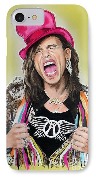 Steven Tyler 2 IPhone 7 Case by Melanie D