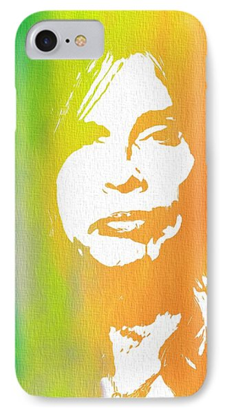 Steven Tyler Canvas IPhone 7 Case by Dan Sproul