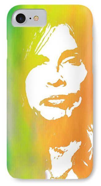 Steven Tyler IPhone 7 Case by Dan Sproul