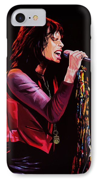 Steven Tyler IPhone 7 Case by Paul Meijering