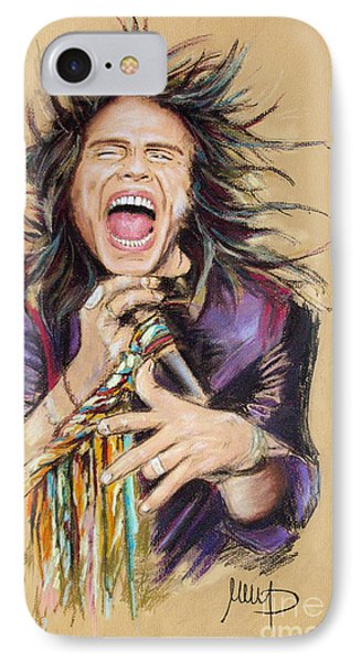 Steven Tyler IPhone 7 Case by Melanie D