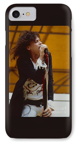 Steven Tyler Of Aerosmith At Monsters Of Rock In Oakland Ca IPhone 7 Case by Daniel Larsen