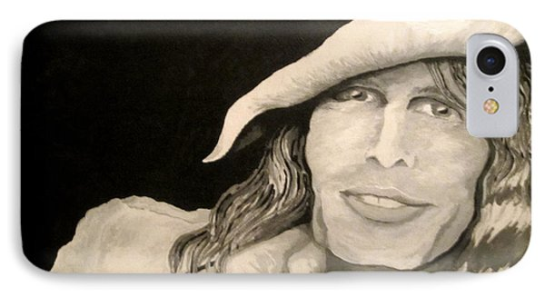 Steven Tyler Portrait IPhone Case by Kathleen Allen