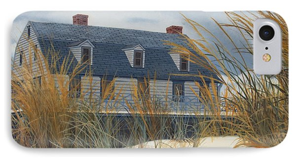 Stevens House IPhone Case by Barbara Barber