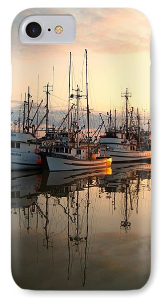 Steveston Harbour Phone Case by Shirley Sirois