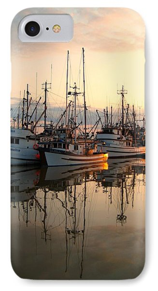 Steveston Harbour IPhone Case by Shirley Sirois