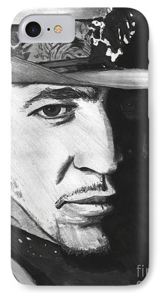 Stevie Ray Vaughan IPhone Case by Chris Fader