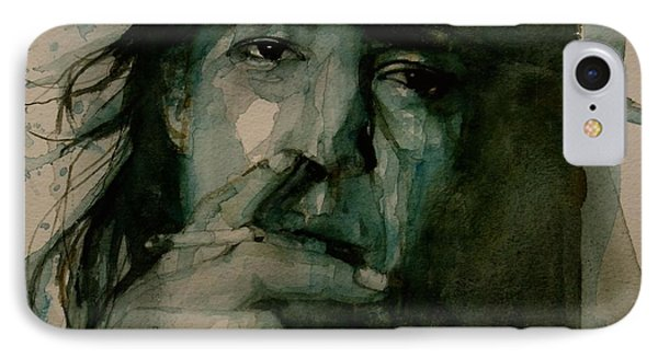 Stevie Ray Vaughan IPhone 7 Case by Paul Lovering