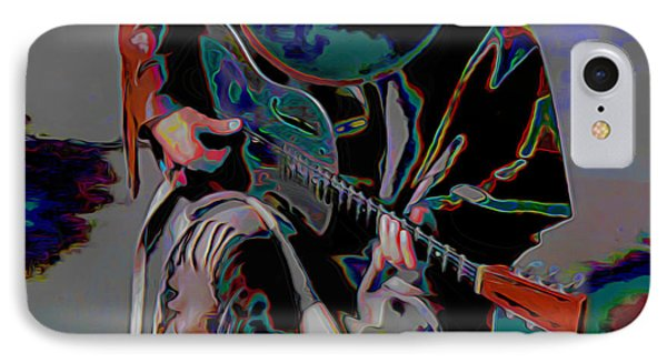 Stevie Ray Vaughan Srv IPhone Case by  Fli Art
