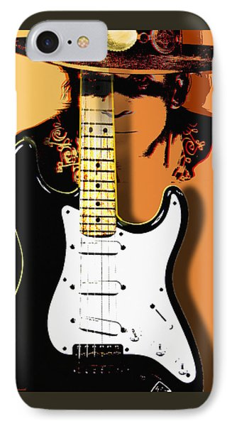 Stevie Ray Vaughan Phone Case by Larry Butterworth