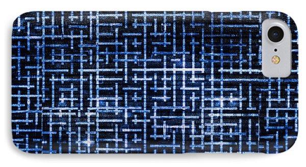 Stick Labyrinth Phone Case by Hakon Soreide