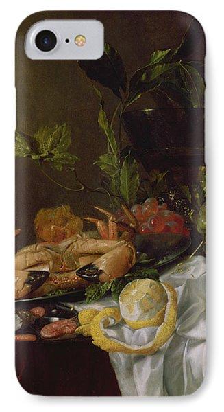 Still Life, 17th Century IPhone Case by Pieter de Ring