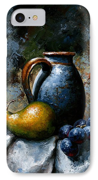 Still Life 24 IPhone Case by Emerico Imre Toth