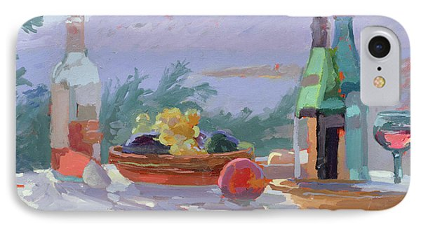 Still Life And Seashore Bandol IPhone Case by Sarah Butterfield