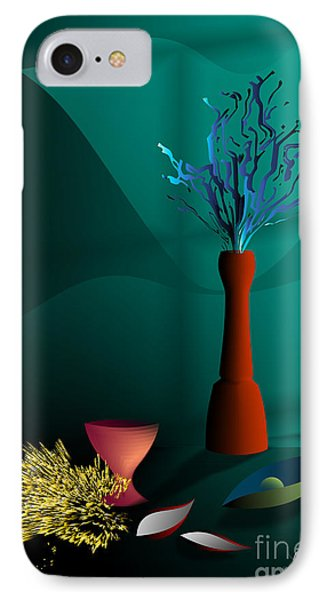 IPhone Case featuring the digital art Still Life In Studio by Leo Symon