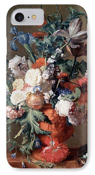 Still Life IPhone Case by Jan van Huysum