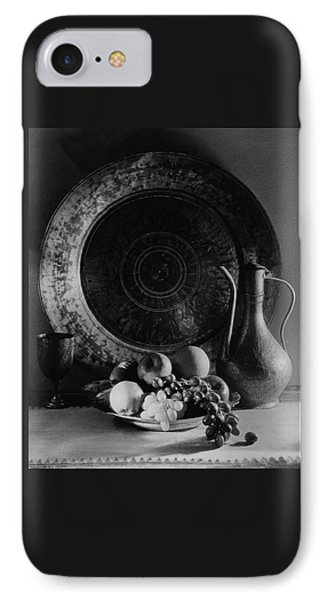 Still Life Of Armenian Plate And Other IPhone Case by Joseph B. Wurtz