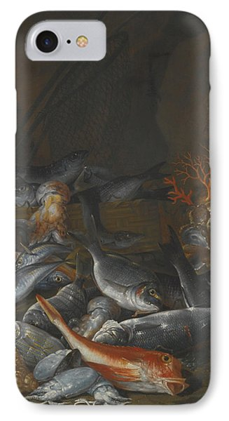 Still Life Of Assorted Fish IPhone Case