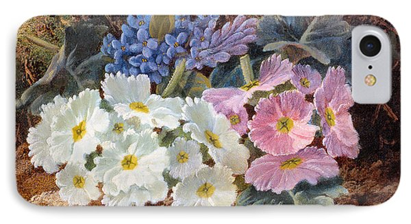 Still Life Of Flowers Phone Case by Oliver Clare