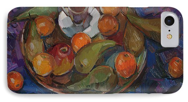 Still Life On A Tray IPhone Case by Juliya Zhukova