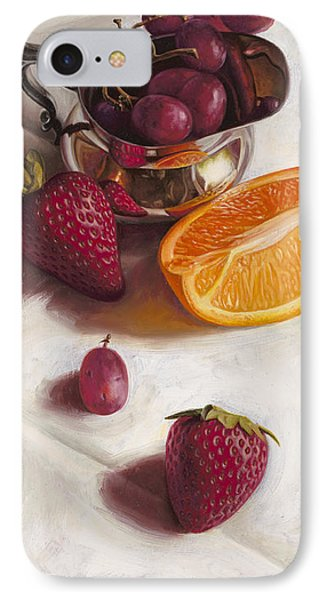 Still Life Reflections IPhone 7 Case by Ron Crabb