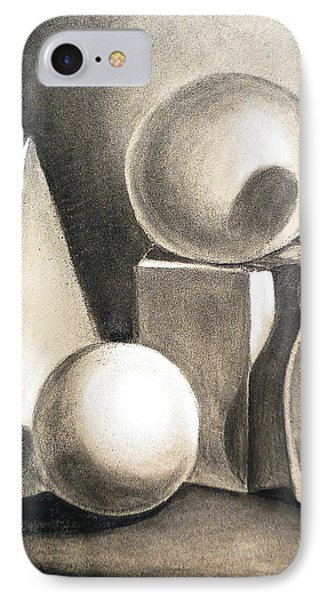 Still Life Study Of Forms IPhone Case by Irina Sztukowski