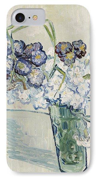 Still Life Vase Of Carnations IPhone Case