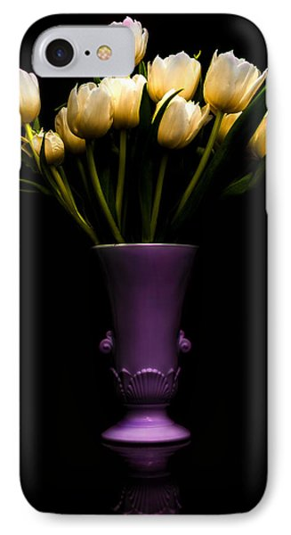 Still Life - White Tulips IPhone Case